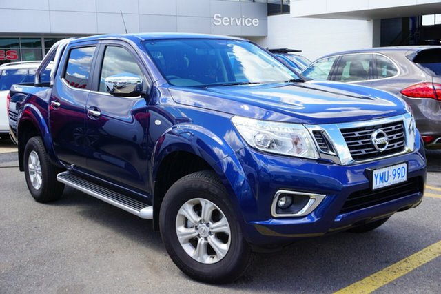 Demo Nissan Navara D23 S3 ST, 2017 Nissan Navara D23 S3 ST Deep Sapphire 7 Speed Sports Automatic Utility