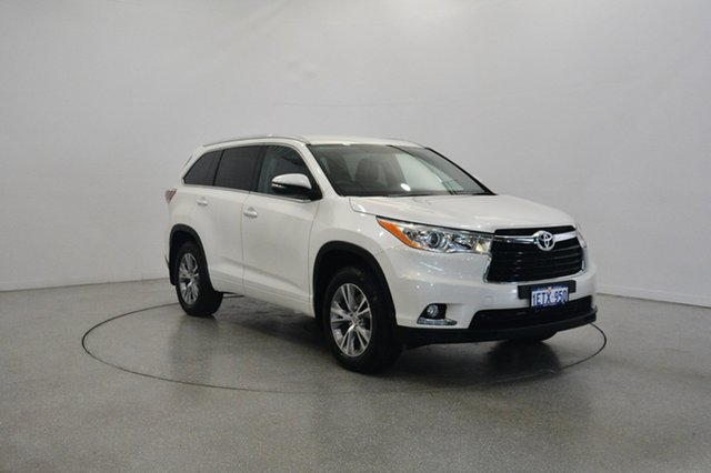 Used Toyota Kluger GSU50R GXL 2WD, 2015 Toyota Kluger GSU50R GXL 2WD White 6 Speed Sports Automatic Wagon