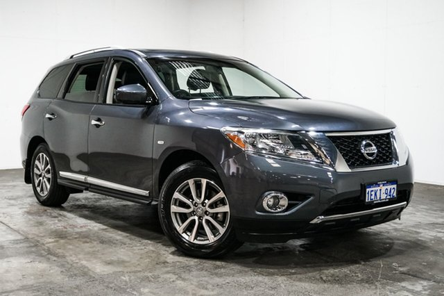 Used Nissan Pathfinder R52 MY14 ST-L X-tronic 4WD, 2014 Nissan Pathfinder R52 MY14 ST-L X-tronic 4WD Grey 1 Speed Constant Variable Wagon