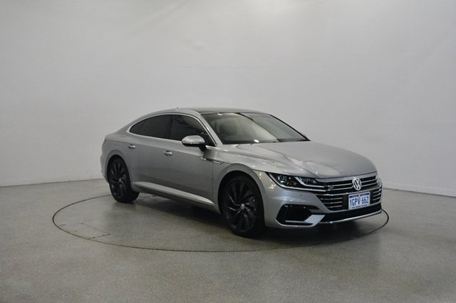 Used Volkswagen Arteon 3H MY18 206TSI Sedan DSG 4MOTION R-Line, 2018 Volkswagen Arteon 3H MY18 206TSI Sedan DSG 4MOTION R-Line Pyrit Silver Metallic 7 Speed
