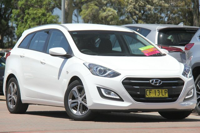 Used Hyundai i30 GDe3 Series II MY16 Tourer DCT, 2015 Hyundai i30 GDe3 Series II MY16 Tourer DCT White 7 Speed Sports Automatic Dual Clutch Wagon