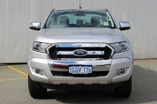 2018 Ford Ranger PX MKII 2018.00 XLT Double Cab Ingot Silver 6 Speed Sports Automatic Utility.