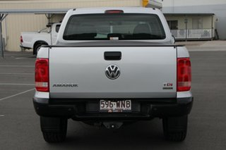 2015 Volkswagen Amarok 2H MY15 TDI420 4MOTION Perm Core Silver 8 Speed Automatic Utility