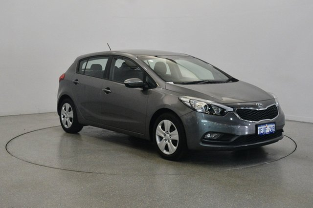Used Kia Cerato YD MY15 S, 2015 Kia Cerato YD MY15 S Metal Stream 6 Speed Sports Automatic Hatchback