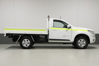2012 Holden Colorado RG LX (4x4) White 6 Speed Automatic Cab Chassis