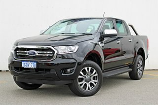 2018 Ford Ranger PX MKIII 2019.0 XLT Pick-up Double Cab Shadow Black 6 Speed Sports Automatic