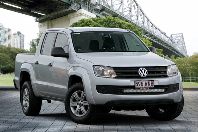 Used Volkswagen Amarok 2H MY15 TDI420 4MOTION Perm Core, 2015 Volkswagen Amarok 2H MY15 TDI420 4MOTION Perm Core Silver 8 Speed Automatic Utility