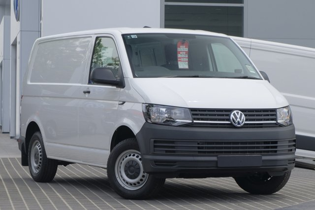 Demo Volkswagen Transporter T6 MY18 TDI250 SWB Runner, 2018 Volkswagen Transporter T6 MY18 TDI250 SWB Runner Candy White 5 Speed Manual Van