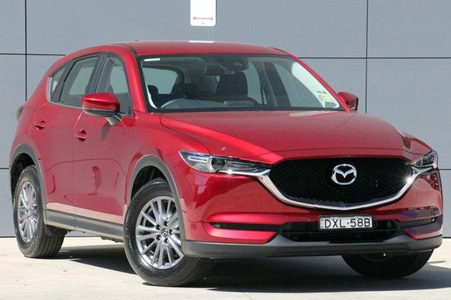 Demo Mazda CX-5 KF4WLA Maxx SKYACTIV-Drive i-ACTIV AWD Sport, 2018 Mazda CX-5 KF4WLA Maxx SKYACTIV-Drive i-ACTIV AWD Sport Soul Red Crystal 6 Speed