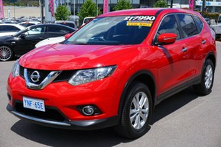 2015 Nissan X-Trail T32 ST 2WD Burning Red 6 Speed Manual Wagon.