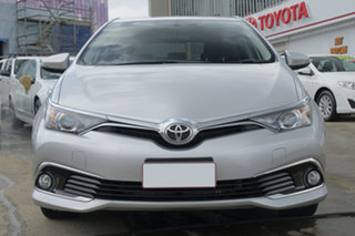 2017 Toyota Corolla ZRE182R Ascent Sport S-CVT Pearl Silver 7 Speed Constant Variable Hatchback