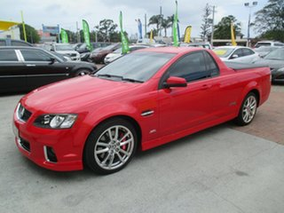 2012 Holden Ute VE II MY12 SS V Redline Red 6 Speed Sports Automatic Utility.