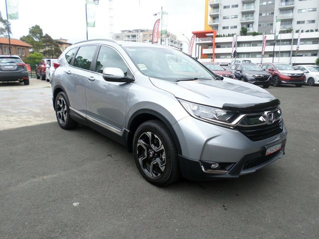Demo Honda CR-V RW MY18 VTi-S 4WD, 2017 Honda CR-V RW MY18 VTi-S 4WD Lunar Silver 1 Speed Constant Variable Wagon