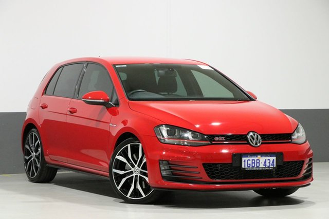 Used Volkswagen Golf AU MY16 GTI Performance, 2016 Volkswagen Golf AU MY16 GTI Performance Red 6 Speed Direct Shift Hatchback