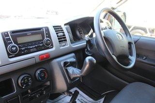 2013 Toyota Hiace KDH201R MY12 LWB White 5 Speed Manual Van