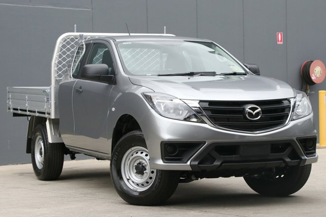 New Mazda BT-50 UR0YG1 XT Freestyle 4x2 Hi-Rider, 2018 Mazda BT-50 UR0YG1 XT Freestyle 4x2 Hi-Rider Aluminium 6 Speed Sports Automatic Cab Chassis