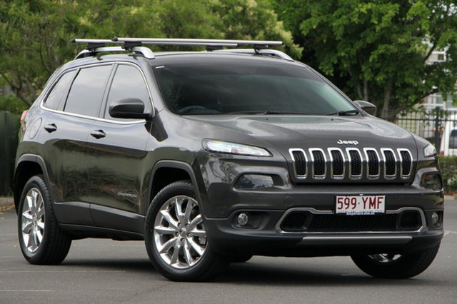 Used Jeep Cherokee KL MY15 Limited, 2014 Jeep Cherokee KL MY15 Limited Grey 9 Speed Sports Automatic Wagon