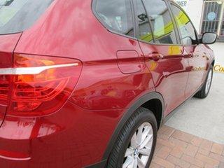 2014 BMW X3 F25 MY1213 xDrive20d Steptronic Red 8 Speed Automatic Wagon