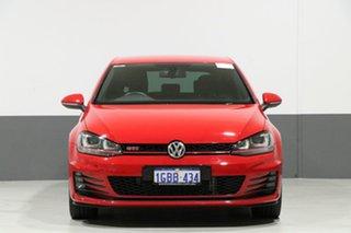 2016 Volkswagen Golf AU MY16 GTI Performance Red 6 Speed Direct Shift Hatchback.