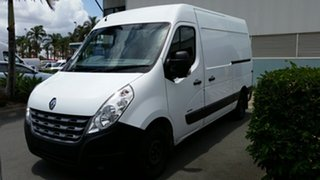 2014 Renault Master X62 Mid Roof MWB AMT White 6 Speed Sports Automatic Single Clutch Van.