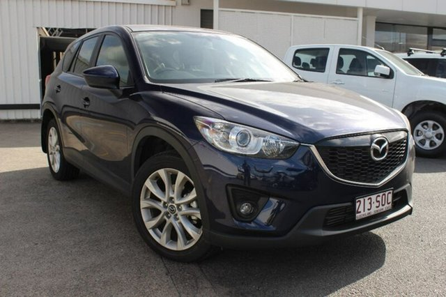 Used Mazda CX-5 KE1071 Grand Touring SKYACTIV-Drive AWD, 2012 Mazda CX-5 KE1071 Grand Touring SKYACTIV-Drive AWD Blue 6 Speed Sports Automatic Wagon