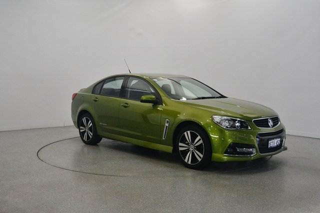 Used Holden Commodore VF MY15 SV6 Storm, 2015 Holden Commodore VF MY15 SV6 Storm Light Green 6 Speed Sports Automatic Sedan