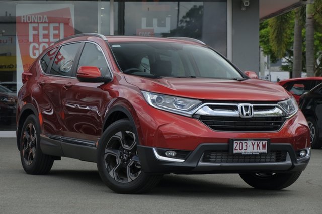 Demo Honda CR-V RW MY18 VTi-L FWD, 2018 Honda CR-V RW MY18 VTi-L FWD Passion Red 1 Speed Constant Variable Wagon