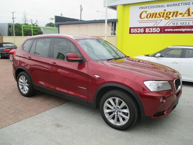 Used BMW X3 F25 MY1213 xDrive20d Steptronic, 2014 BMW X3 F25 MY1213 xDrive20d Steptronic Red 8 Speed Automatic Wagon