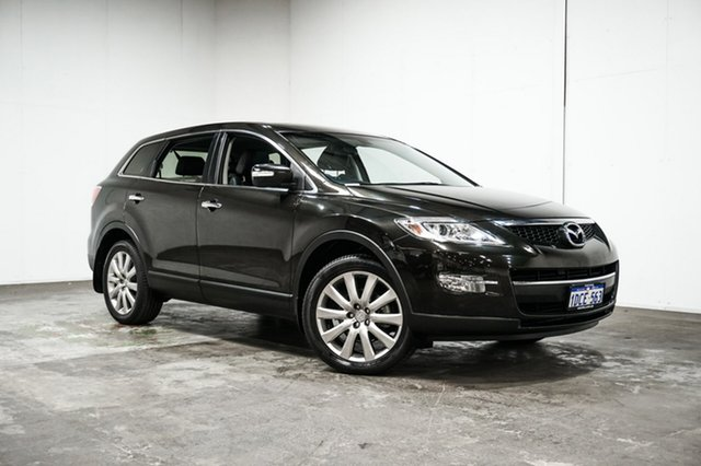 Used Mazda CX-9 TB10A3 MY10 Luxury, 2009 Mazda CX-9 TB10A3 MY10 Luxury Black 6 Speed Sports Automatic Wagon