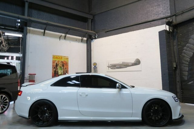 Used Audi RS5 8T , 2013 Audi RS5 8T White Sports Automatic Dual Clutch Coupe