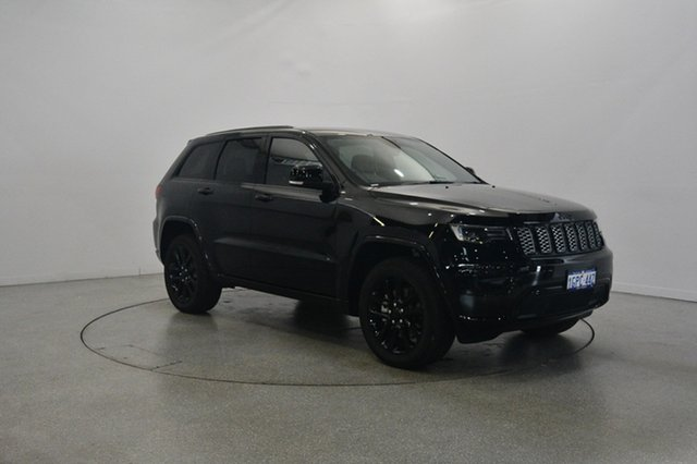 Used Jeep Grand Cherokee WK MY18 Blackhawk, 2018 Jeep Grand Cherokee WK MY18 Blackhawk Diamond Black Crystal 8 Speed Sports Automatic Wagon