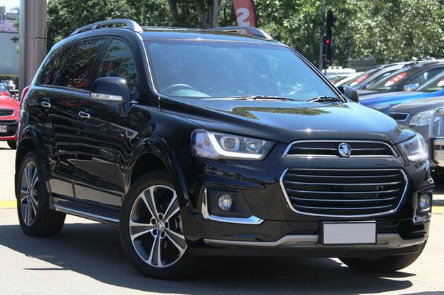 Used Holden Captiva CG MY18 LTZ AWD, 2017 Holden Captiva CG MY18 LTZ AWD Black 6 Speed Sports Automatic Wagon