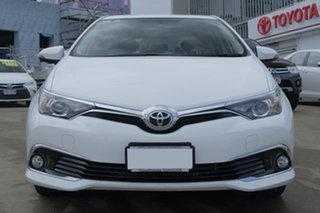 2017 Toyota Corolla ZRE182R Ascent Sport S-CVT Glacier White 7 Speed Constant Variable Hatchback