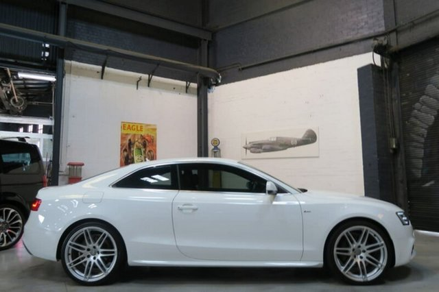Used Audi A5 8T , 2012 Audi A5 8T White Sports Automatic Dual Clutch Coupe