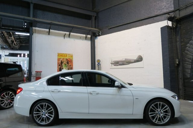 Used BMW 320d F30 , 2013 BMW 320d F30 White Sports Automatic Sedan