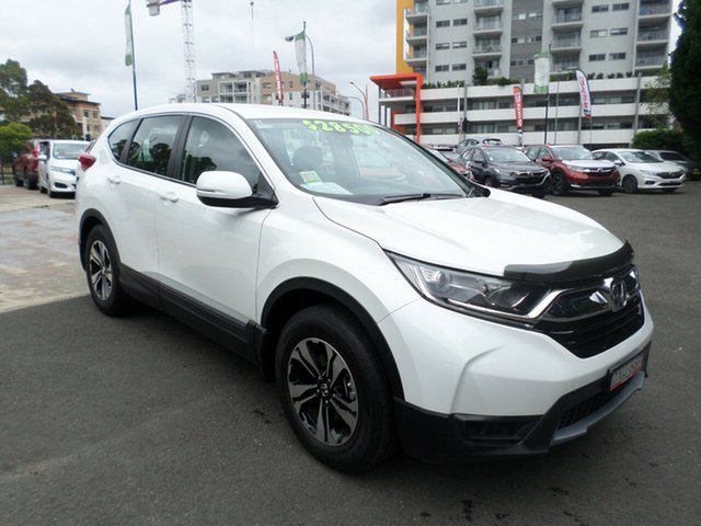 Demo Honda CR-V RW MY18 Vi FWD, 2018 Honda CR-V RW MY18 Vi FWD White Orchid 1 Speed Constant Variable Wagon