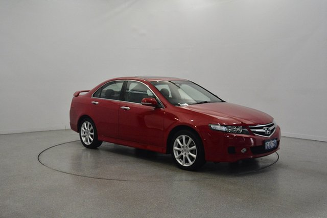 Used Honda Accord Euro CL MY2006 Luxury, 2006 Honda Accord Euro CL MY2006 Luxury Red 5 Speed Automatic Sedan