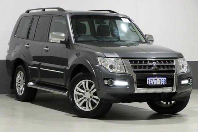 Used Mitsubishi Pajero NX MY15 Exceed LWB (4x4), 2015 Mitsubishi Pajero NX MY15 Exceed LWB (4x4) Grey 5 Speed Auto Sports Mode Wagon