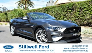2018 Ford Mustang FN 2018MY GT SelectShift Magnetic 10 Speed Sports Automatic Convertible.