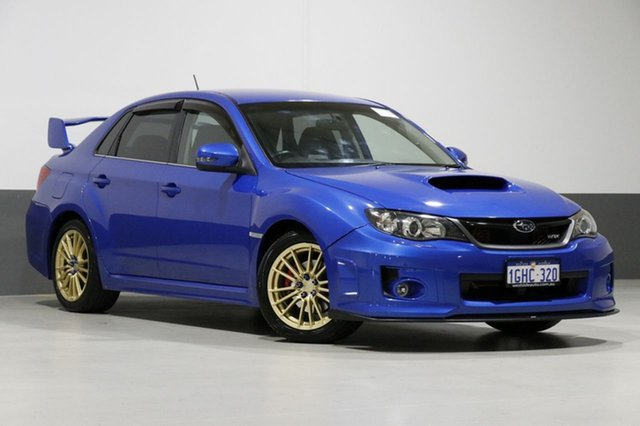 Used Subaru WRX MY13 RS40 (AWD), 2013 Subaru WRX MY13 RS40 (AWD) WR Blue Mica 5 Speed Manual Sedan