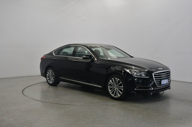Used Hyundai Genesis DH , 2016 Hyundai Genesis DH Black 8 Speed Sports Automatic Sedan