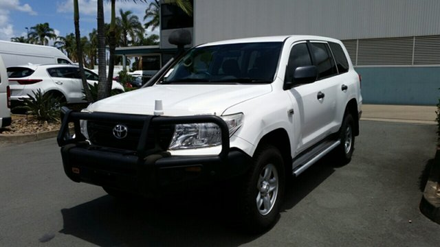 Used Toyota Landcruiser VDJ200R MY12 GX, 2013 Toyota Landcruiser VDJ200R MY12 GX Glacier 6 Speed Sports Automatic Wagon