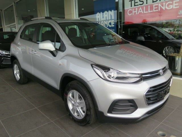 New Holden Trax TJ MY18 LS, 2018 Holden Trax TJ MY18 LS Nitrate Silver 6 Speed Automatic Wagon