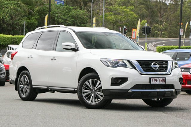 Demo Nissan Pathfinder R52 Series II MY17 ST X-tronic 2WD, 2017 Nissan Pathfinder R52 Series II MY17 ST X-tronic 2WD Ivory Pearl 1 Speed Constant Variable