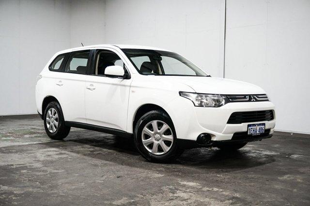 Used Mitsubishi Outlander ZJ MY13 ES 2WD, 2013 Mitsubishi Outlander ZJ MY13 ES 2WD White 6 Speed Constant Variable Wagon