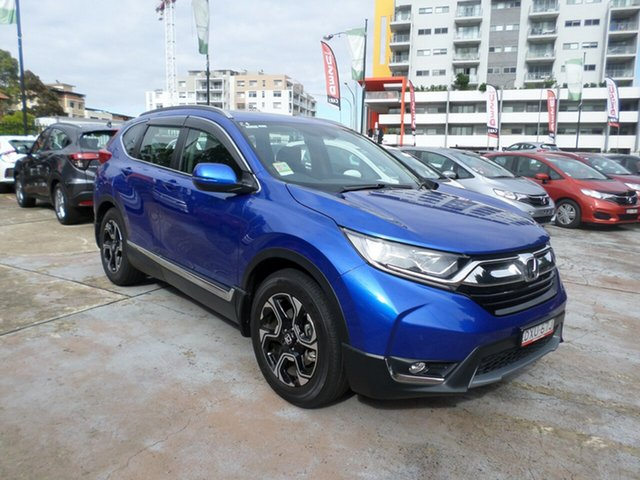Demo Honda CR-V RW MY18 VTi-L FWD, 2017 Honda CR-V RW MY18 VTi-L FWD Brilliant Sporty Blue 1 Speed Constant Variable Wagon