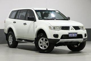 2012 Mitsubishi Challenger PB MY12 LS (5 Seat) (4x4) White 5 Speed Automatic Wagon.