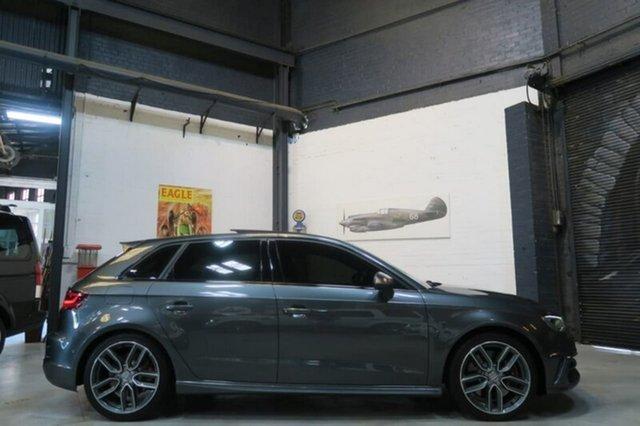 Used Audi S3 8V , 2014 Audi S3 8V Grey Sports Automatic Dual Clutch Hatchback