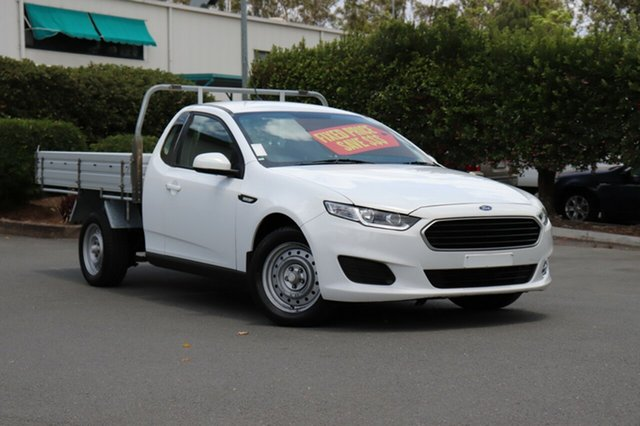 Used Ford Falcon FG X Super Cab, 2016 Ford Falcon FG X Super Cab White 6 Speed Sports Automatic Cab Chassis
