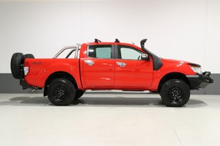 2013 Ford Ranger PX XLT 3.2 (4x4) Red 6 Speed Manual Dual Cab Utility